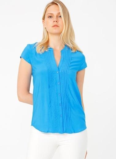 Random Gömlek Mavi